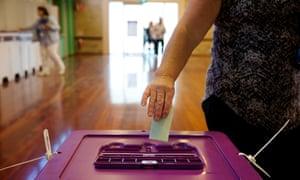 Voting Australia