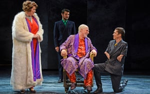 Mat Fraser, right, in Richard III at Hull Truck theatre.