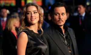 Amber Heard and Johnny Depp in 2015.