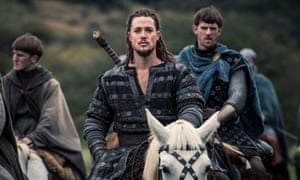 Alexander Dreymon and James Northcote in The Last Kingdom.