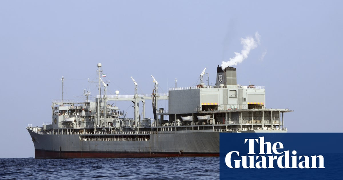 Iran warship catches fire and sinks in Gulf of Oman, say local agencies