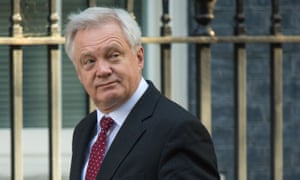 David Davis sent a coded warning to Germany and EU nations at an economic conference in Berlin.