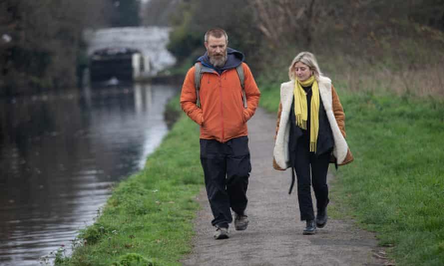 Urban walking with Dan Raven-Ellison and Ellie Violet Bramley between Ealing and Hanwell, London.