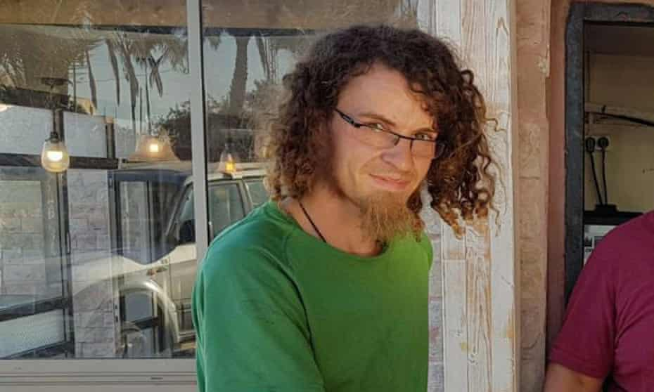 Oliver McAfee disappeared into the Negev desert in Israel