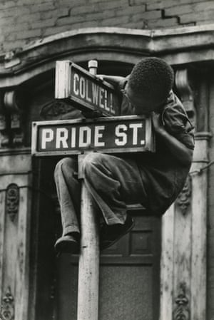 Pride Street, Pittsburgh, 1955, by W Eugene Smith