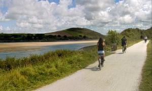 Between Wadebridge and Padstow on the Camel Trail