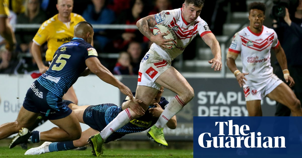 St Helens storm into Grand Final after seven-try blitz blows Wigan away