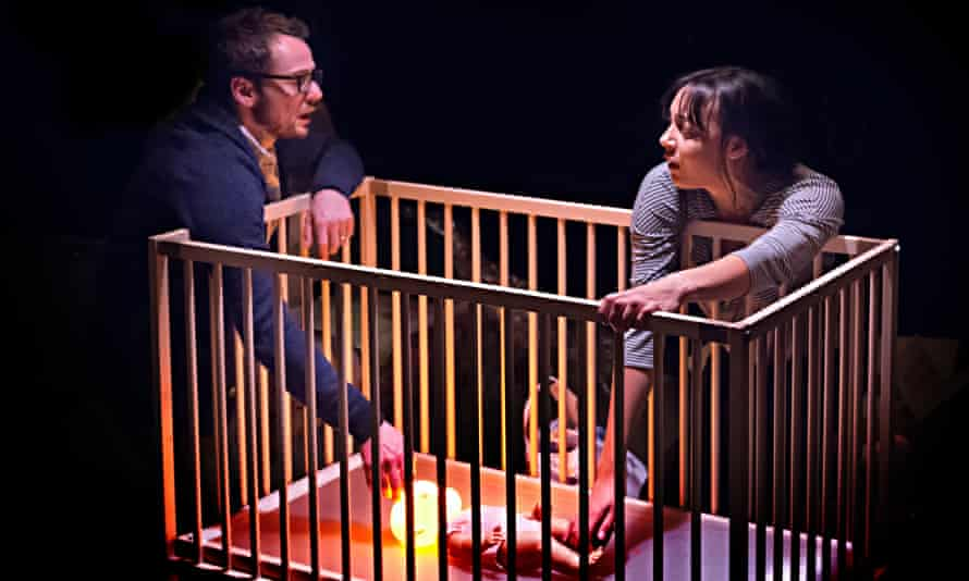 Alex Waldmann and Adelle Leonce in Nina Segal's In the Night Time (Before the Sun Rises) at the Gate theatre in 2016.