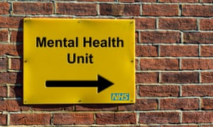 Mental Health Unit sign