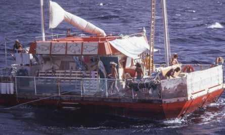 Picture of the Acali raft