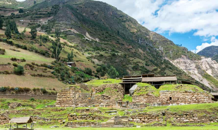 Ruined pre-incan temple at Chavin de Huantar