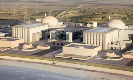 Hinkley Point C artist's impression