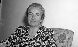 Chilean poet Gabriela Mistral, who won the Nobel prize for literature in 1945.