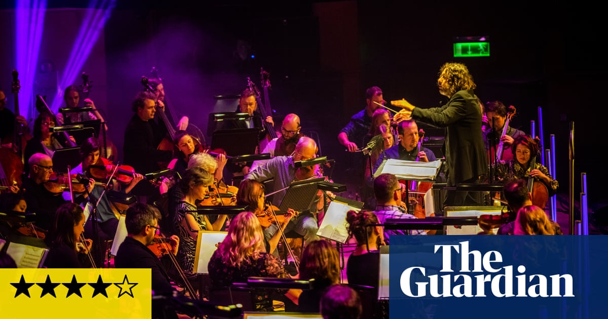 Grit Orchestra/Celtic Connections review – filmic fusion from an 80-strong band