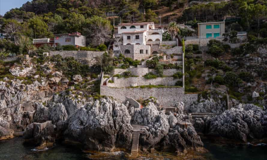 The villa owned by hardened Cosa Nostra killer Giuseppe 'Scarpuzzedda' Greco was nearly 40 metres high
