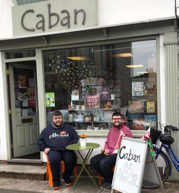 Caban, in Cardiff, run by Nia Owen and her two sons.