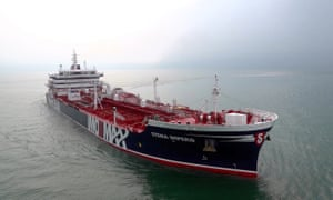 Iran stokes Gulf tensions by seizing two British-linked oil tankers | World news | The Guardian