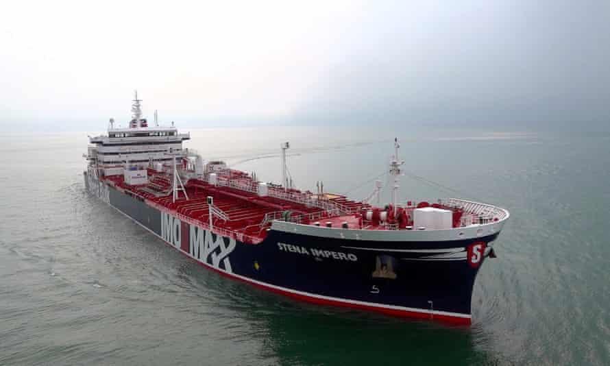The Stena Impero tanker