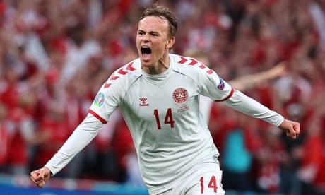 Denmark's Mikkel Damsgaard: 'It feels like England got a penalty that wasn't there'