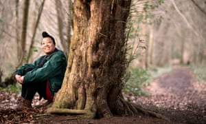 'Being made to feel an outsider can be a big turn-off' … Zakiya Mckenzie, one of the Forestry Commission's new writers in residence.