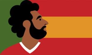 Mohamed Salah illustration