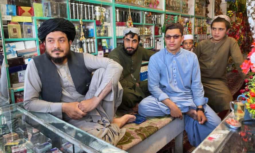 Musa Qala bazaar