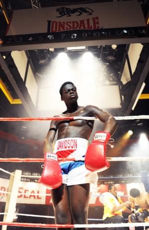 Daniel Kaluuya as Leon in Sucker Punch by Roy Williams in 2010.
