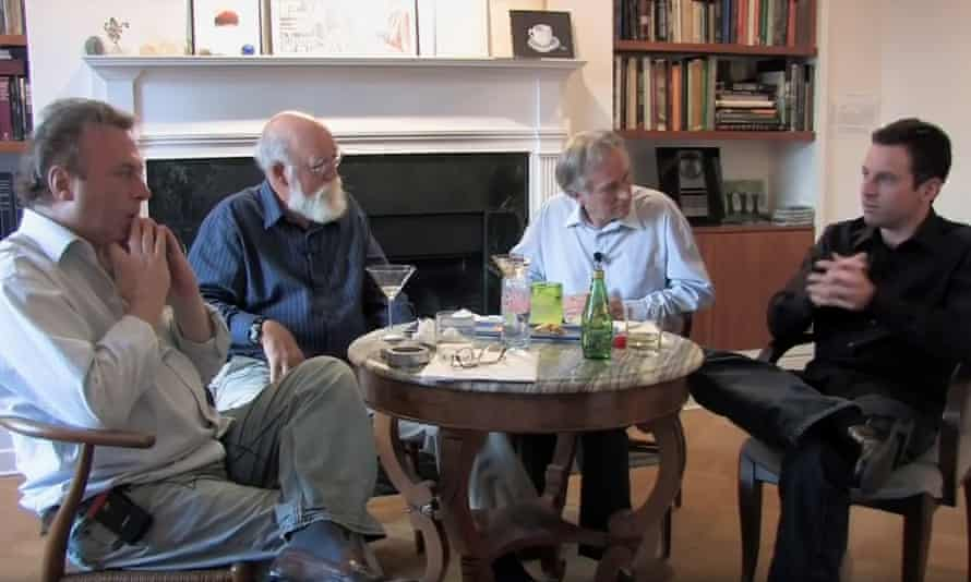 The Four Horsemen: Christopher Hitchens, Daniel Dennett, Richard Dawkins and Sam Harris.
