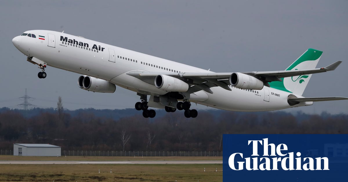Iranian passenger plane forced to change course as US fighter jets approached – report – The Guardian
