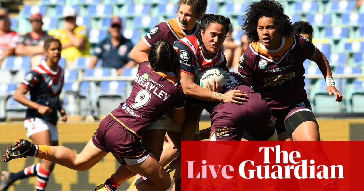 13631cc5 NRLW grand final: Brisbane Broncos v Sydney Roosters - as it ...