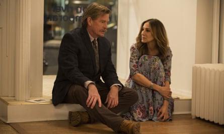 Thomas Haden Church and Sarah Jessica Parker in Divorce.