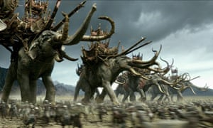 Lord of the Rings' Battle of the Pelennor Fields