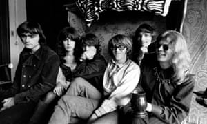 High flyers … Paul Kanter (third from right) with Jefferson Airplane.