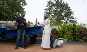 A small-scale farmer