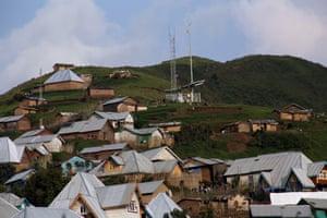 Vodacom and Tigo towers in Numbi