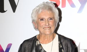 Beryl Vertue at the Women in Film and Television awards on Friday, at which she was presented with the lifetime achievement award.