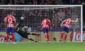 Kieran Trippier's penalty is saved by Anton Kochenkov.
