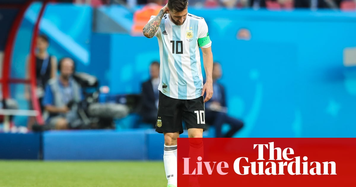0f2c905cc Messi and Ronaldo head home from the World Cup – as it happened ...