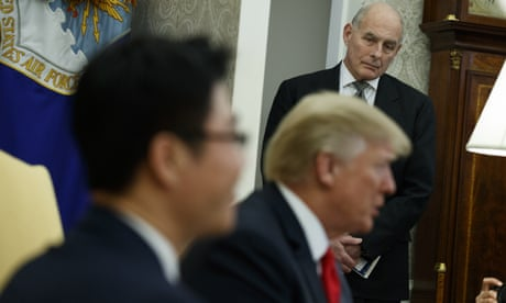Trump staff say president is 'absolutely not' seeking John Kelly's removal