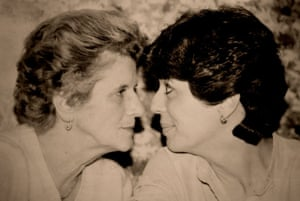 'Your Mother should know' Christina's mother Jacqueline and grandmother Arline share a moment