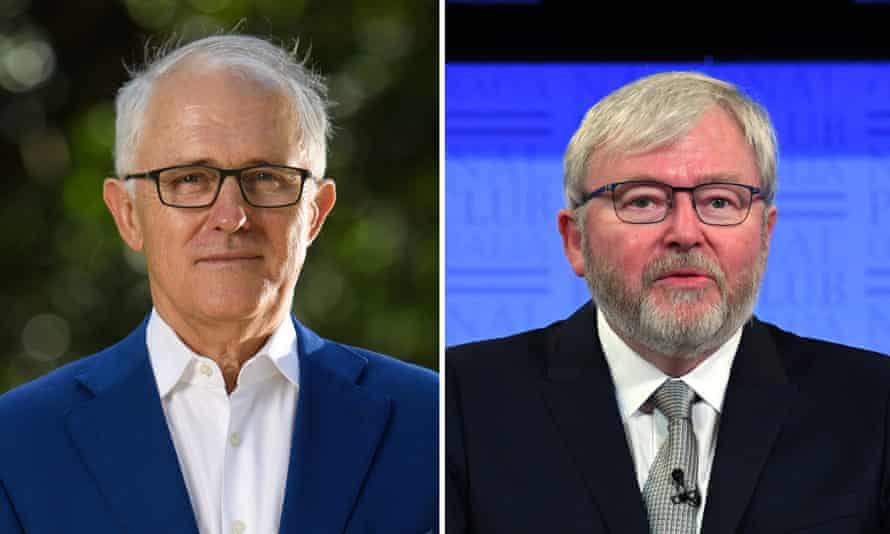 Malcolm Turnbull and Kevin Rudd