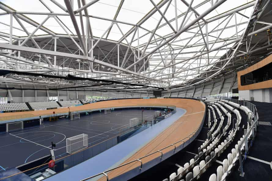 The Anna Meares Velodrome at the Sleeman Sports Complex in Brisbane.