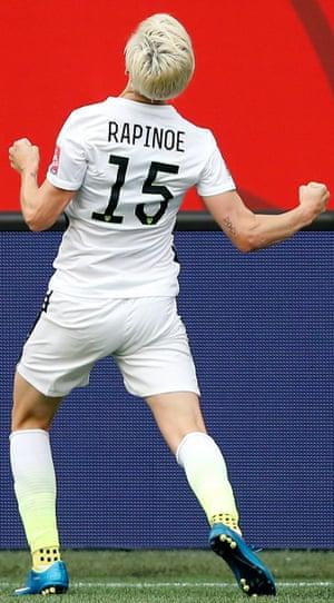 Megan Rapinoe in 2015.