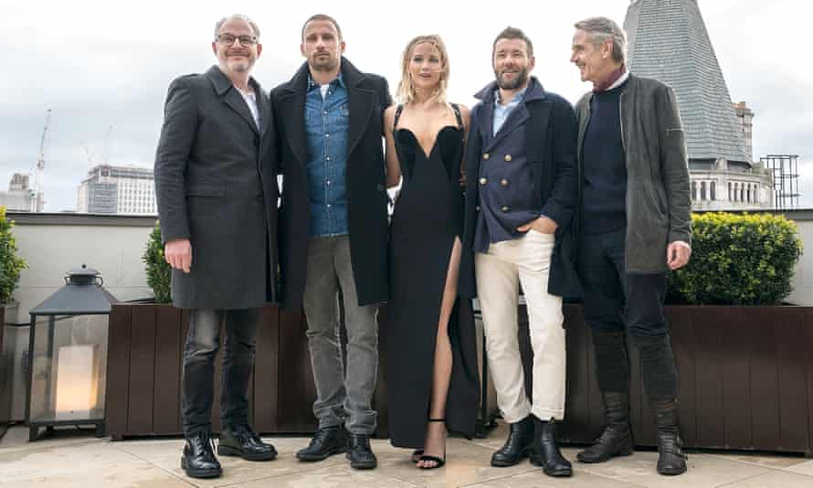 The Red Sparrow photocall in London.
