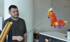 Martin Belam recreates the giant monster rat photo
