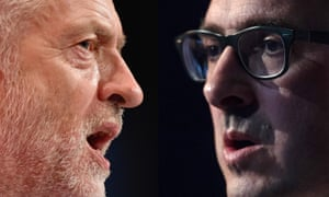 Labour leadership contenders Jeremy Corbyn and Owen Smith