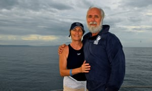 John and Linda Romney on the Great Barrier Reef