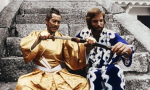 Toshiro Mifuner and Richard Chamberlain in the 1980 TV adaptation of James Clavell's Shogun.