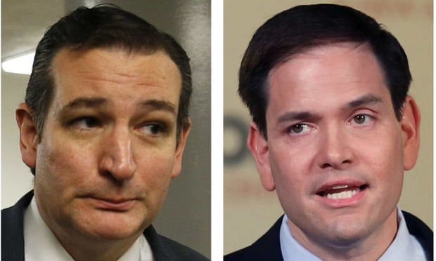 Cruz and Rubio lead Republican charge against Obama over Syria policy
