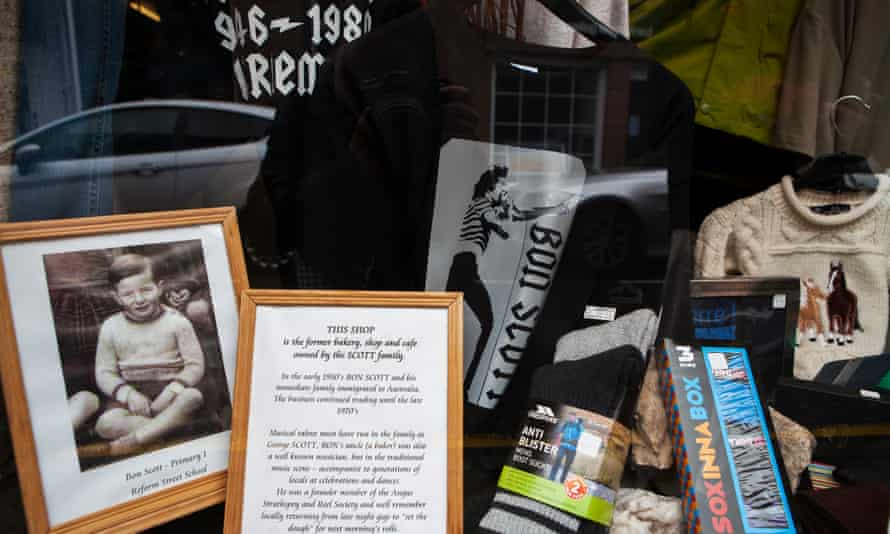 A window display at the former Scott bakery.